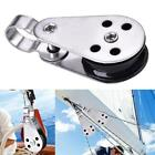 Durable Stainless Steel Pulley Blocks For Kayak Canoe Boat Anchor Trolley Kit SP