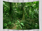 Tropical Jungle with plant Tapestry Wall Hanging for Living Room Bedroom Decor