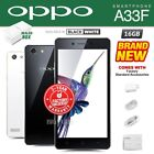 new sealed factory unlocked oppo a33f black white 16gb android smartphone