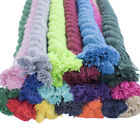 """Premium Super Soft Colored Twisted Cotton Rope - 1/4"""" Diameter, Multiple Lengths"""