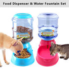 Cat Feeder Automatic 6 Meal Pet Big Dog Water Fountain Food Dispenser Set Dishes