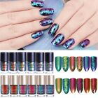 9ml Magic Chameleon Nail Polish Glitter Flakes Sequins Nails Varnish