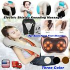 Electric Shiatsu Kneading Massager Heat Therapy For Back Neck Foot Shoulder MX