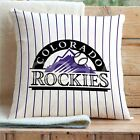 Colorado Rockies MLB Custom Pillows Car Sofa Bed Home Decor Cushion Pillow Case on Ebay