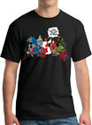 Jesus And Superheroes That's How I Saved The World Christian Funny Men's T Shirt