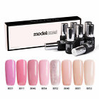 Modelones Pink Nail Gel Polish UV LED Soak Off Manicure 8 Co