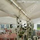 Gala Tent Sidewall Gutter Kit 4m, 6m, 8m, 10m,12m Party Marquee Joint Guttering