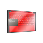 Microsoft Surface 3 Type Cover Keyboard | US/Nordic QWERTY Layout | Black / Red