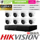 Hikvision 2 4 6 8 HD 1080P 2MP Night Vision Outdoor DVR Home Security System Kit
