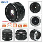 Lightweight Meike 35mm F/1.7 High Definition Manual Focus Lens for Sony E Mount
