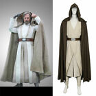 Hot! Star Wars 8:The Last Jedi Luke SkyWalker Cosplay Costume FF.0202