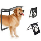 Pet Cat Safe Automatic Locking Flap Screen Door Lockable for All Size Dog Frame