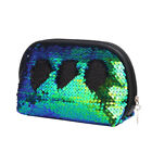 Mermaid Sequin Pencil Flash Case Cosmetic Makeup Coin Pouch Storage Zipper Purse