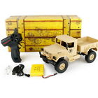 WPL 1:16 Electric RC Crawler Military Car Off Road 4WD 2.4G Remote Control Truck