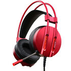 Games Headphone Over-Ear Earphone With Mic Bass Stereo Headset For Gaming Laptop