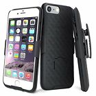 For Apple Iphone Se 2020/7/8 Plus Holster Shell Combo Case Kickstand Belt Clip