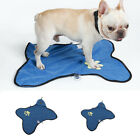 Stowable Double-sided Fiber Hair Pet Towel Claw Cleaning Mat for Dog or Cat