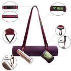 Premium Yoga Mat Carry Strap Sling 6.5ft, carrying towels, keys, water bottles