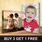 Buy 3 Get 1 Free Personalised Your Photo on Canvas Prints - A5 A4 A3 A2 A1 A0  <br/> Buy 3 Get 1 Free✔ Guaranteed UK Lowest Price✔ A+++✔