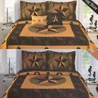 Camouflage Western Horseshoe Cowboy Boot Star Design Quilt Bedspread! image