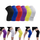 Basketball Leg Knee Protector Short Sleeve For Kids Adult Honeycomb Pad Support