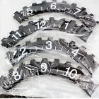 Vintage Gears Large Round Antique Wall Clock Retro Style Modern Home Decor BI09