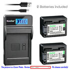 Kastar Battery LCD Charger for Canon BP-718 CG-700 Canon LEGRIA HF M52 Camera