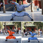 3 Color Shaolin Monk Robe Kung fu Uniform Dress Meditation Wushu Tai Chi Suit