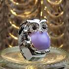 Fashion Lady Men Owl Steel Elastic Quartz Clamshell Finger Ring Watch Finest