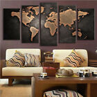 5pcs 2018 Home Wall Decor Modern Abstract Canvas Oil Painting Art High Quality