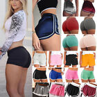 Women Girl Sports Shorts Running Gym Fitness Short Pants Workout Beach Casual US
