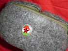 2PCS HUNGARIAN PEOPLES ARMY M1965 WINTER HAT ONE PARADE ONE COMBAT 53-63 SIZES!!