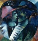 Marc Chagall - The Green Lovers / Les Amants Verts, 1914 - Fine Art Poster