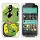 For HTC Desire 526G / HTC Desire 526 Hard Fitted 2 Piece Snap On Case White