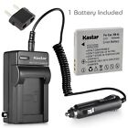 Kastar Battery AC Charger for Canon NB-4L NB-4LH Canon Digital IXUS 70 IXUS 75