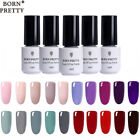 5Pcs 5ml BORN PRETTY UV Gel Nail Polish Soak Off Base Top Co