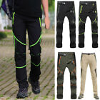 Men Outdoor Hiking/Camping Quick Dry Pants Breathable Waterproof Stretch Trouser