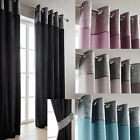 Morgan Metallic Border Lined Ring Top Curtains - Now £10, £15 & £20