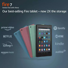 NEW Amazon Fire 7 Tablet 16 GB (9th Gen) - Black Blue Plum Sage - ALL COLORS