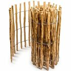 Floranica® Impregnated Hazelwood Fence Picket Garden Wooden Fencing 14 Sizes