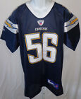 San Diego Chargers Shawne Merriman Replica Sewn Football Jersey Dark Blue #56 $19.99 USD on eBay