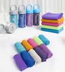 Cooling Bottle Towel ICE Cold Golf Cycling Gym Sports Instant Outdoor TOWEL #TOP