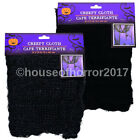 *LOT OF 2 SET OF 2 HALLOWEEN BLACK OR GRAY CREEPY CLOTH HAUNTED HOUSE PROP DECOR