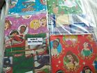 CHRISTMAS / HOLIDAY Wrapping Paper Kids Designs - Folded Fla