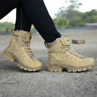 Mens Tactical Military Combat Army Boots Desert SWAT Patrol Shoes Outdoor New