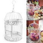 White Iron Birdcage Bird Cage Wedding Center Pieces Hanging Flowers Decoration