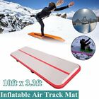 Airtrack Air Track Floor Inflatable Gymnastics Tumbling Mat GYM w/ Pump Red US @ image