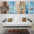 Art - Art of Seascape Sailing Boat Oil Painting Canvas Print Home Decor Friends Gift