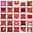 Внешний вид - Xmas 2018 Pillow Case Merry Christmas Decor Sofa Cushion Cover New Year Gift