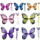 Adult Kids Pixie Fairy Butterfly Bird Costume Wings Cosplay Fancy Tu Tu Dress